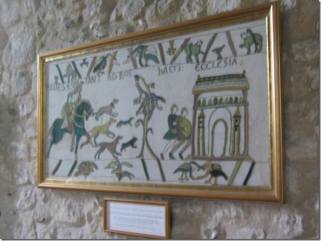 Koning Harold en Bayeux
