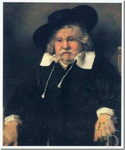 Rembrandt - Portret van een oude man - kopie