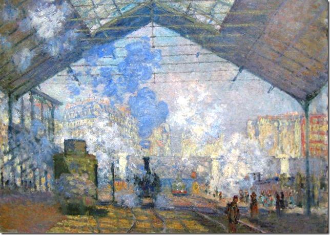 Gare St.-Lazare, Monet - kopie